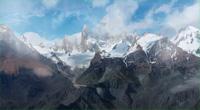 astral sur les Andes